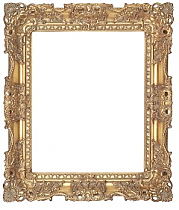 (95mm) Gold Carved Frame
