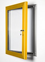 Key Lock Magnetic Frame Anodised Gold