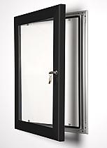 Key Lock poster frame black