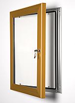 Key Lock poster frame Bronze