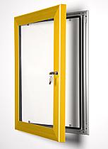 Key Lock poster frame gold
