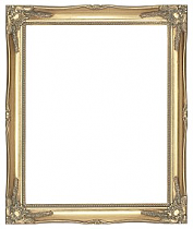 """2.25"""" (57mm) Gold Swept Frame"""