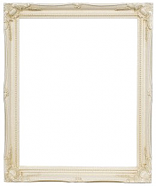 (51mm) Ivory Swept Frame with Mirror