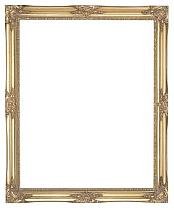 """1.5"""" (38mm) Gold Swept Frame"""