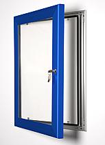 Key Lock poster frame blue