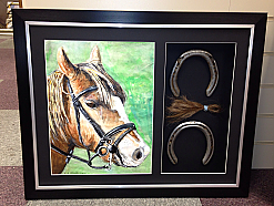 Horse Shoes and Mane £95.00