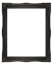 (51mm) Black Swept Frame